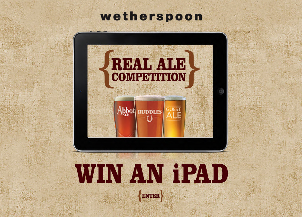 Wetherspoons Ale Competition