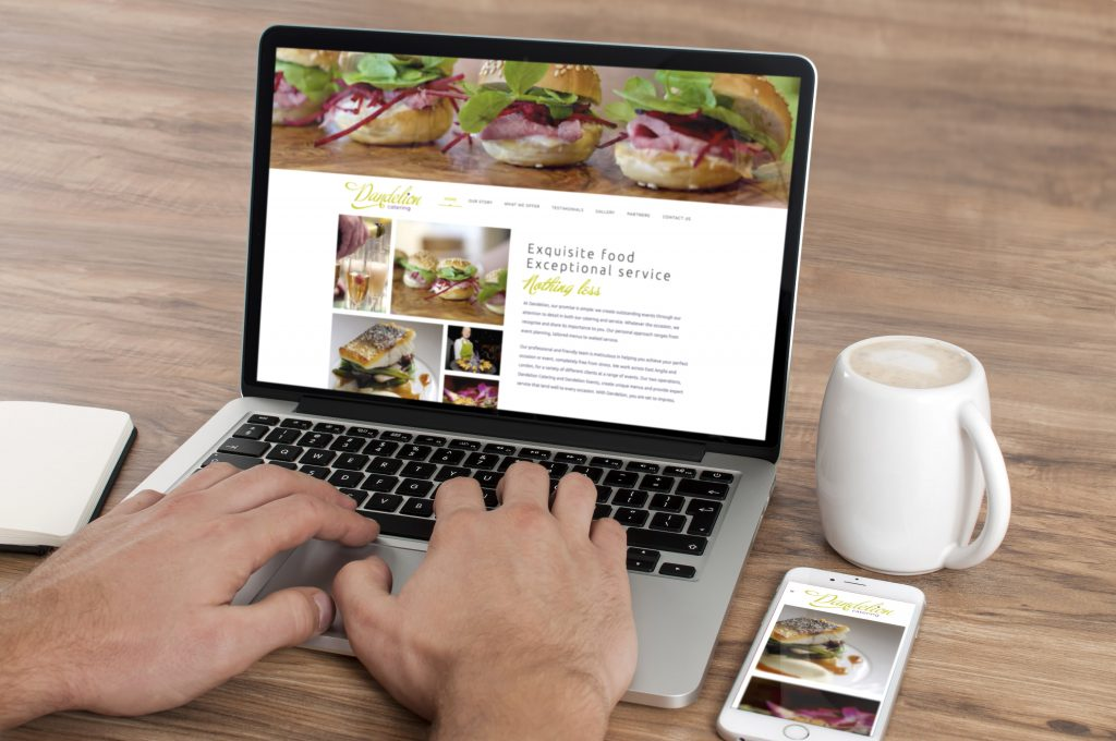 Dandelion Catering Website