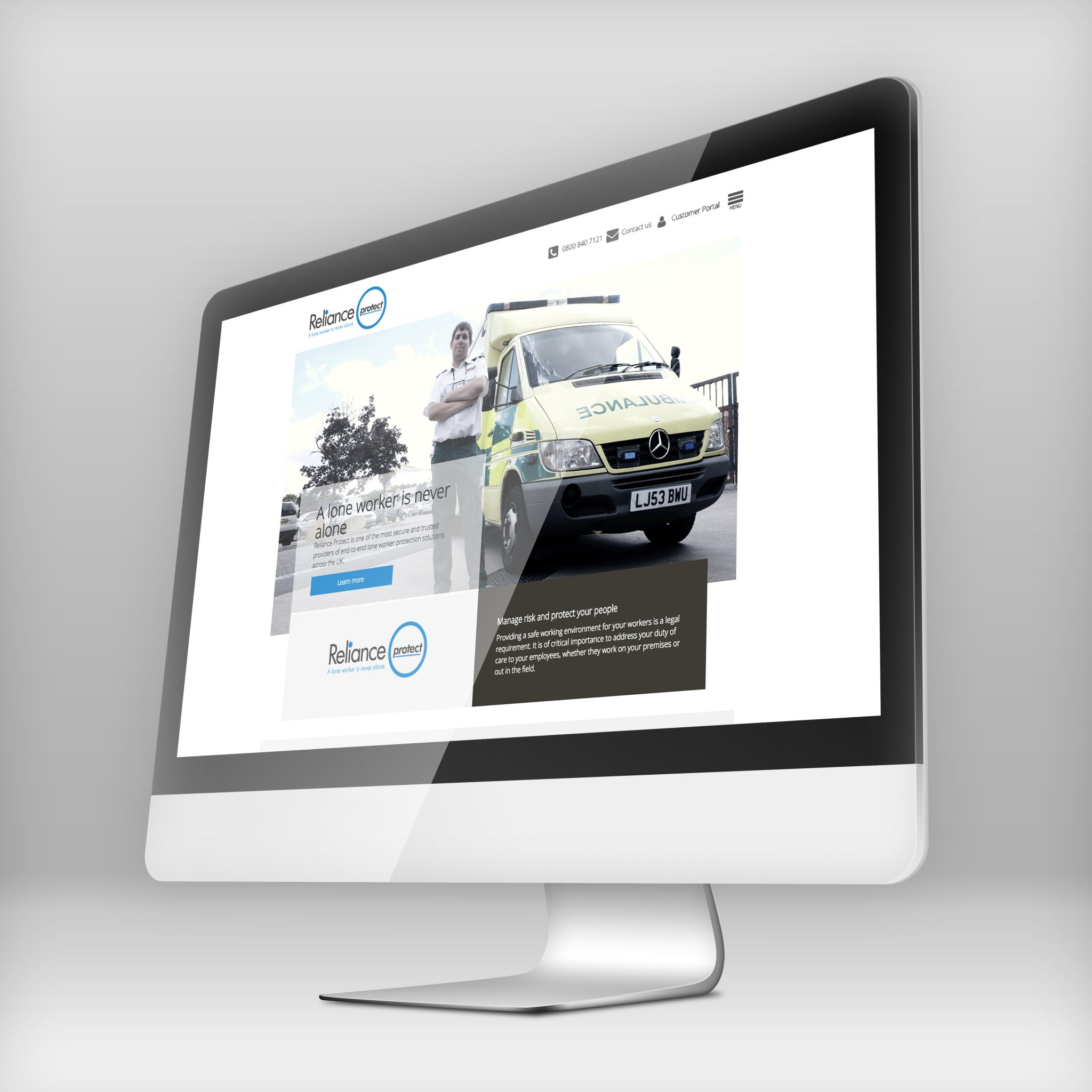Reliance Protect Website